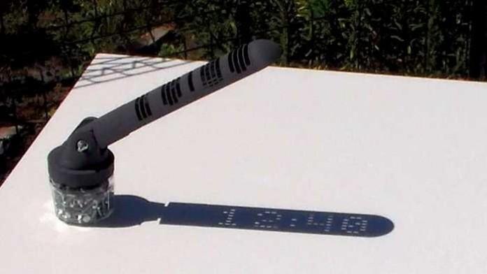 С помощью 3D-печати создали солнечные цифровые часы