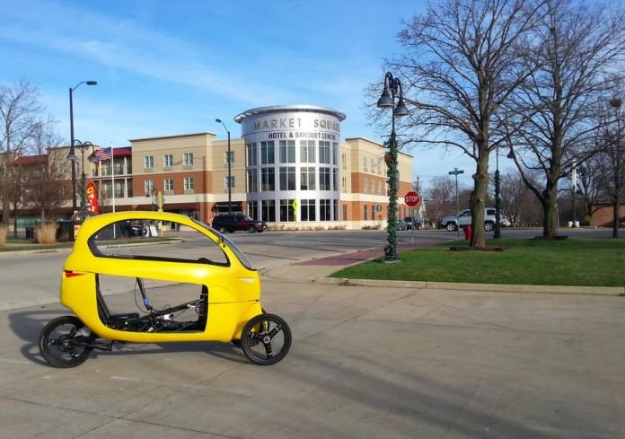 Появился новый трицикл от Елиела Рохаса