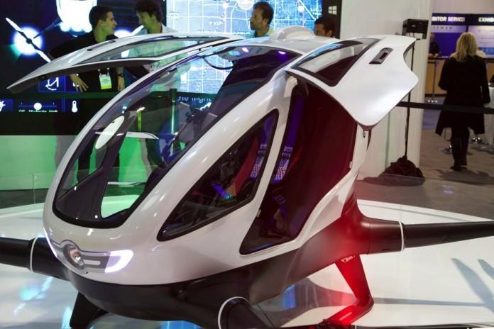 Скоро поступит в продажу дрон с пассажирским местом