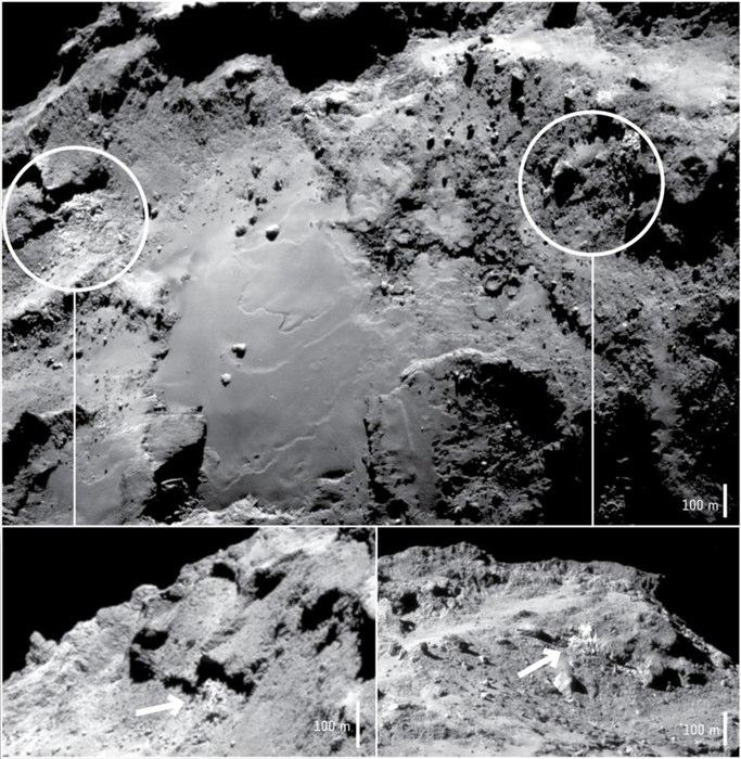 ESA нашло на Чурюмова-Герасименко колоссальные запасы воды