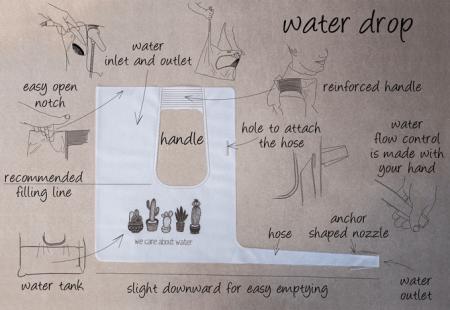 Разработана особая лейка для экономии воды