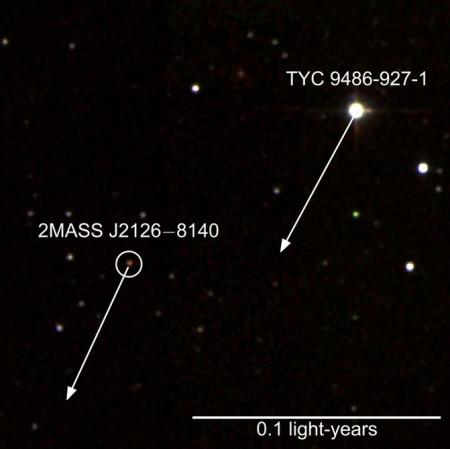 Астрономы нашли огромную планету с гигантской орбитой