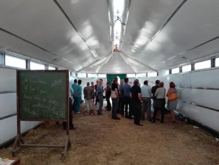 DMOA создала приюты для сирийских беженцев