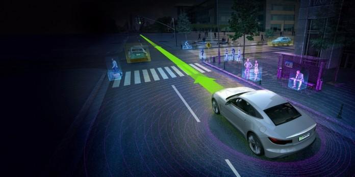 NVIDIA представила новый компьютер для автономного вождения
