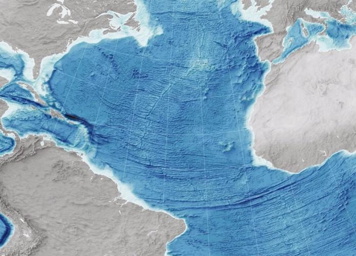 Составлена мировая карта океанского дна