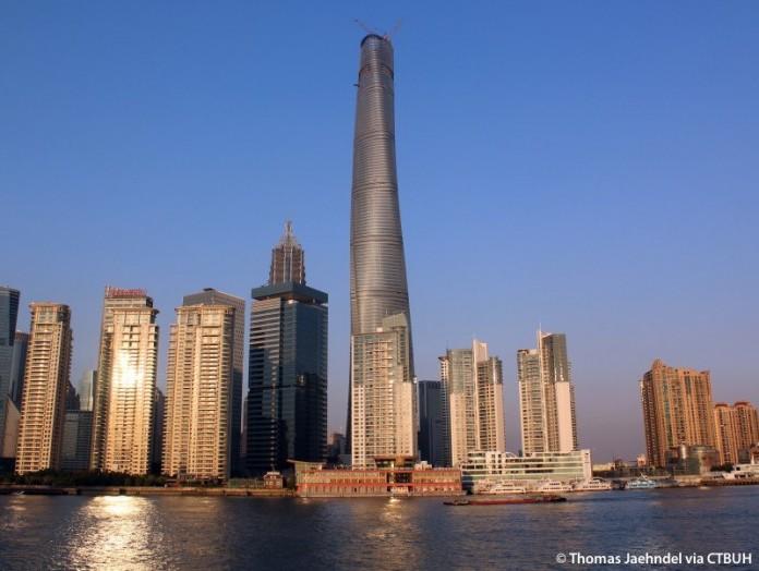 В Шанхае построена огромная