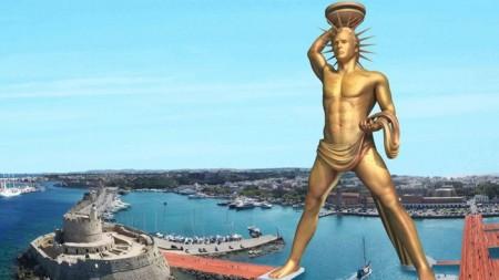 В Греции поставят 150-метровую статую на солнечных батареях