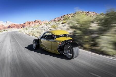 Vanderhall представил новый спортивный автомобиль