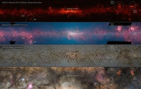 Астрономы поделились панорамой Млечного пути