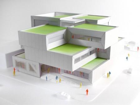 """Архитекторы из Дании построят """"зеленый"""" полицейский участок"""