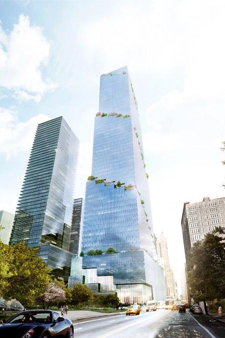 Датская фирма построит гигантский небоскреб в Нью-Йорке