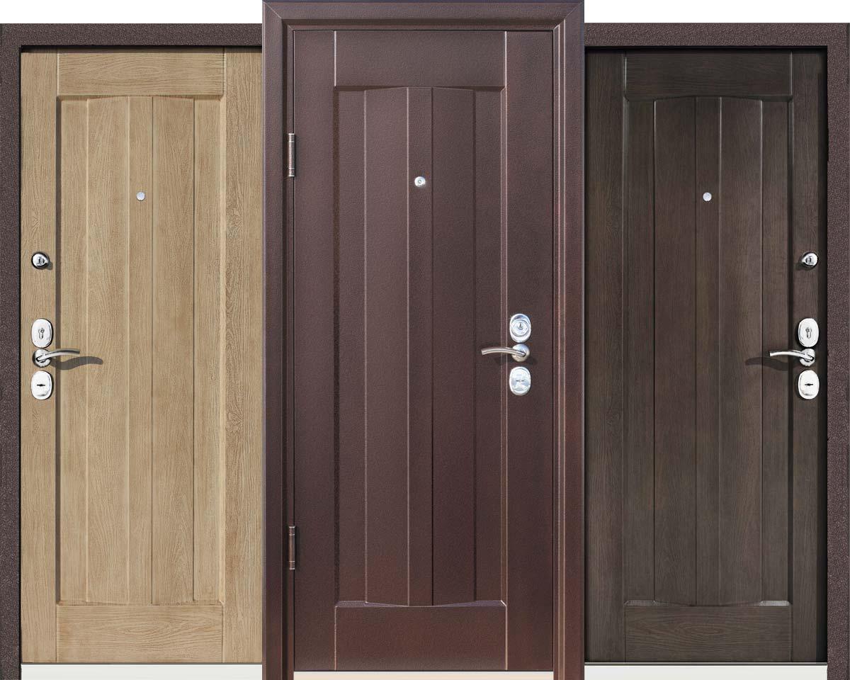 Коротко о металлических дверях