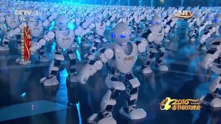 В Китае станцевали более 500 роботов