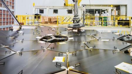 Построена основная часть преемника Хаббла