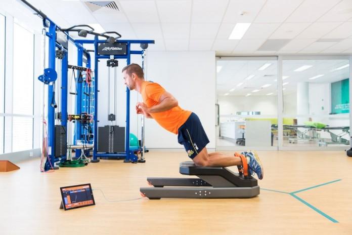 Создан аппарат способный уберечь спортсмена от распространенных травм