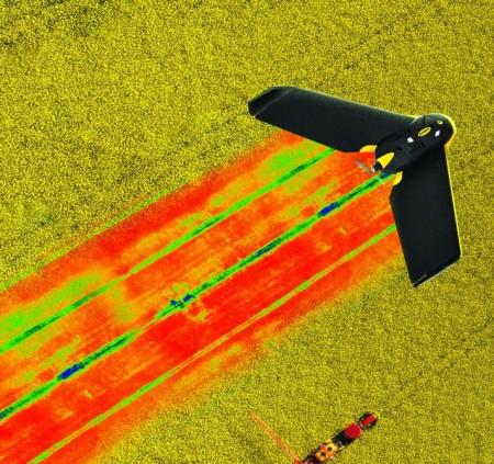 Parrot выпустил приложение к дронам для фермеров