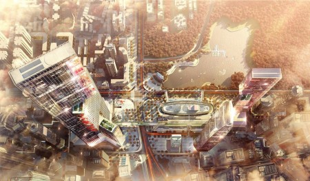 В Китае набирает обороты новый амбициозный проект