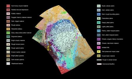 Создана карта Плутона