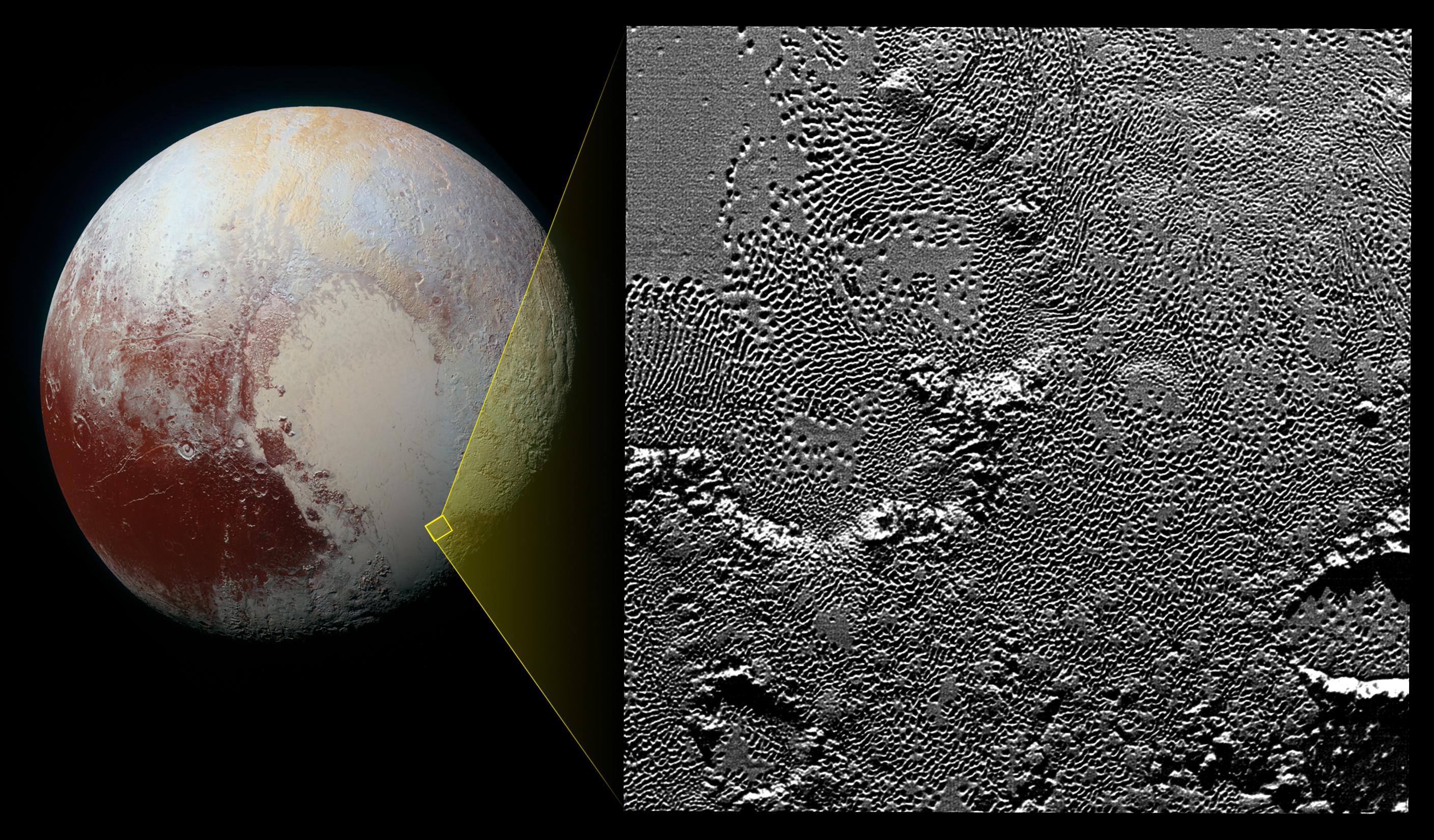 Под поверхностью спутника Плутона может жить океан