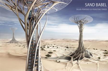 Открыт проект высотной застройки пустынь