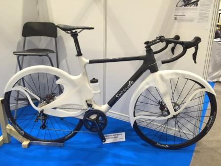 Создан велосипед частично состоящий из брызговиков