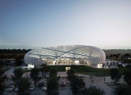 Обнародован проект огромного стадиона для спортсменов с ограниченными возможностями