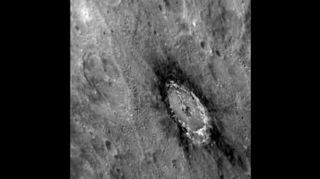 На Меркурии обнаружено большое количество графитового углерода