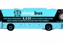 Австралиец разработал автобус-приют