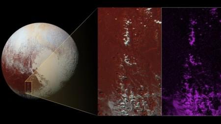 На Плутоне нашли необычный лед