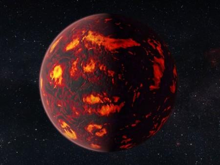 Суперпланета с алмазным ядром может эволюционировать