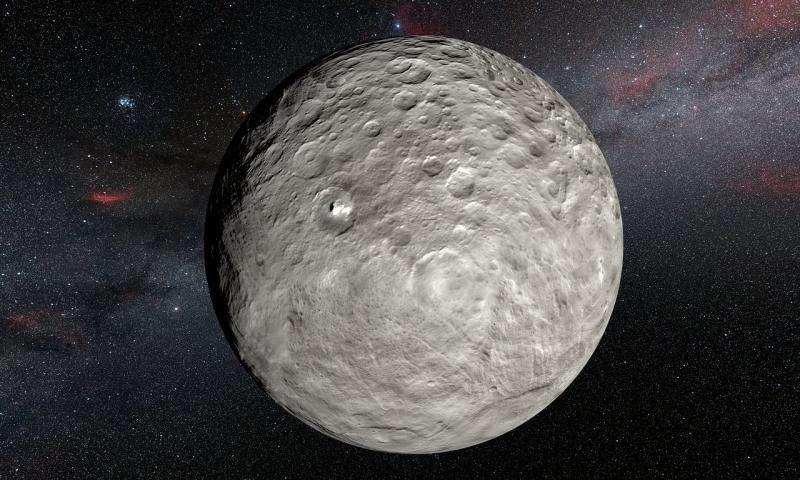 Наблюдения Цереры показывают, что внешность астероидов бывает обманчива