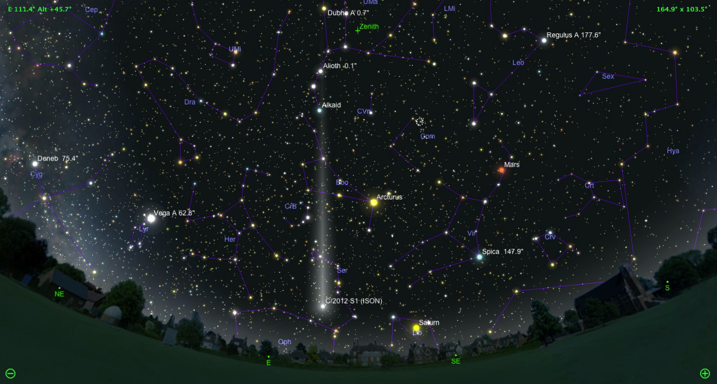 Comet-C-2012-S1-ISON