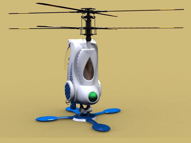Представлен план личного одноместного вертолета