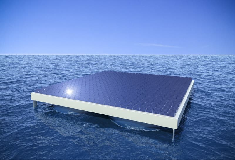 """Инженеры из Вены придумали как сохранить """"солнечную"""" платформу в шторм"""