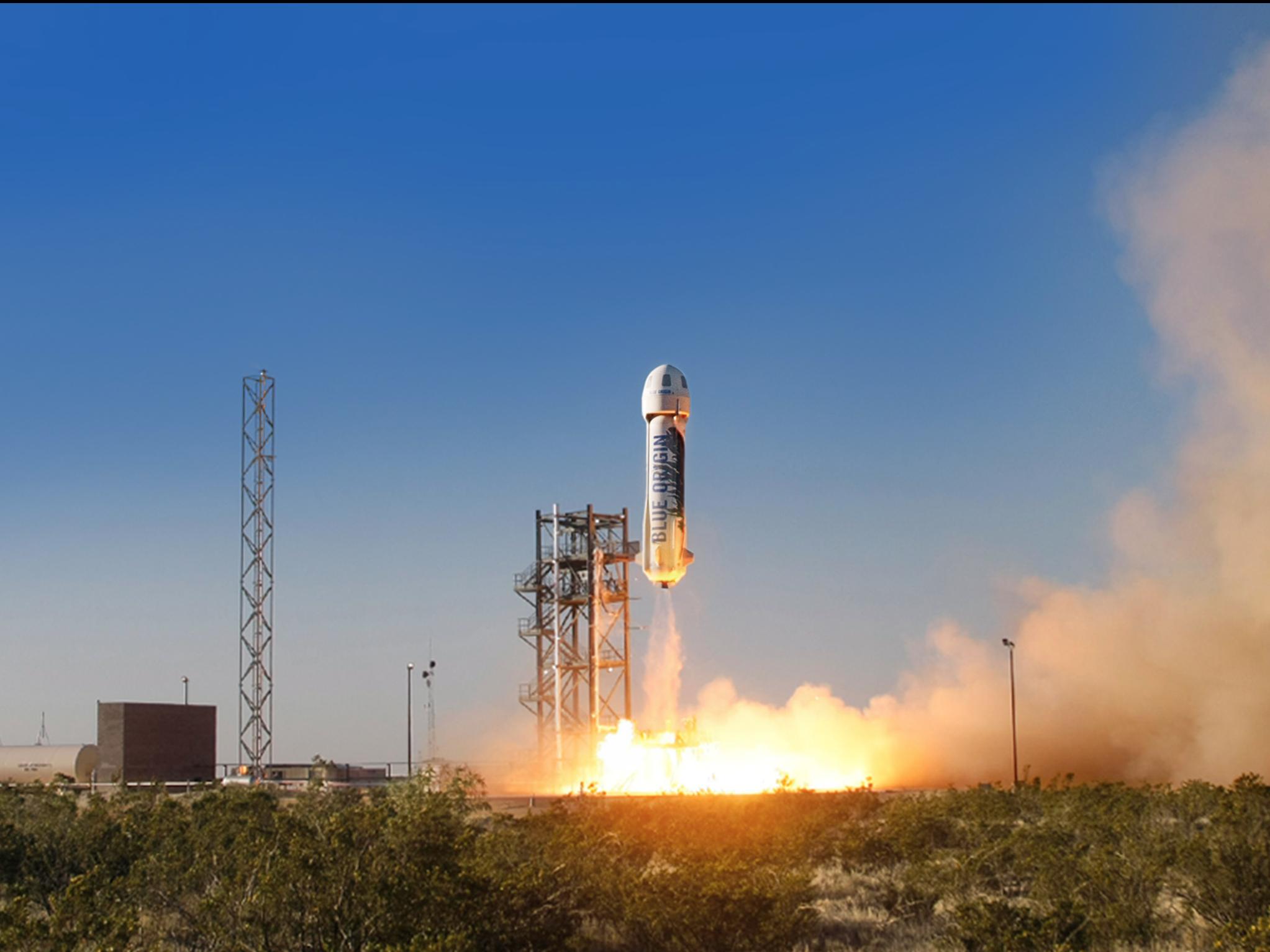 ВСША компания Blue Origin провела успешные тестирования космического корабля New Shepard