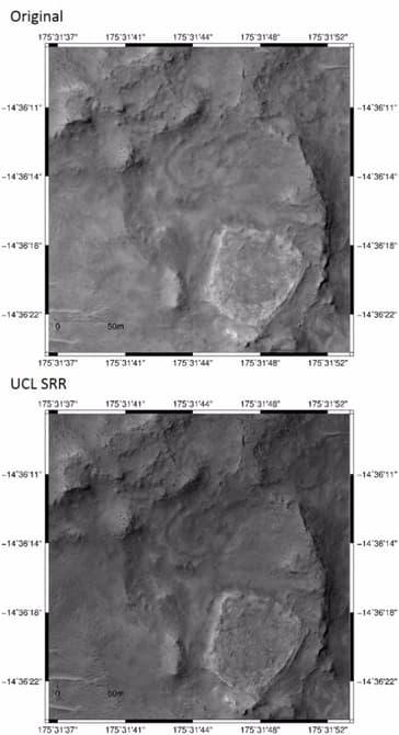 Астрономы научились увеличивать расширение снимков с других планет