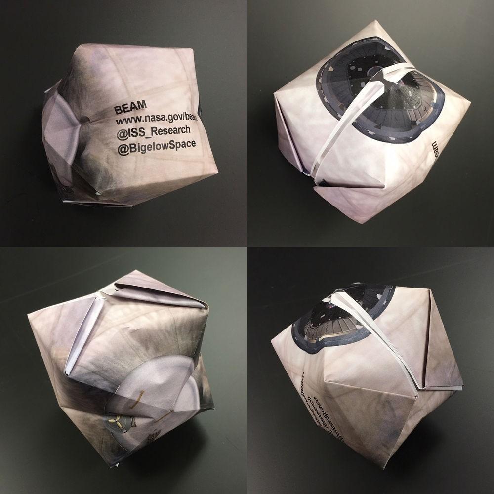 Совсем скоро на МКС откроется новый надувной отсек