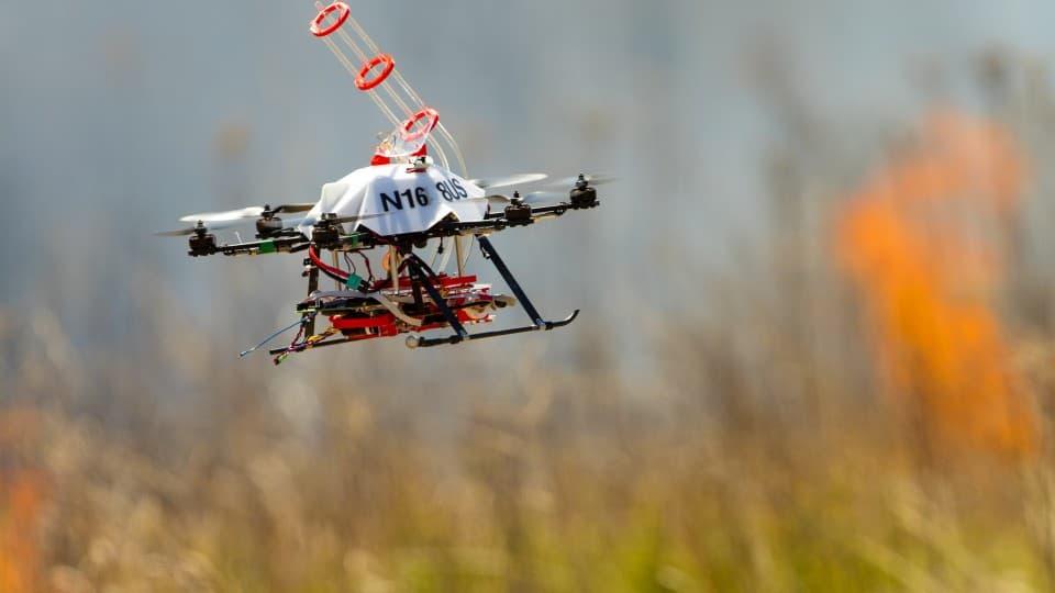 В Америке создан дрон-поджигатель