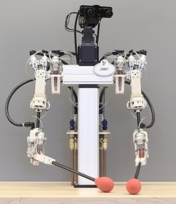 Создана новая система управления движениями робота