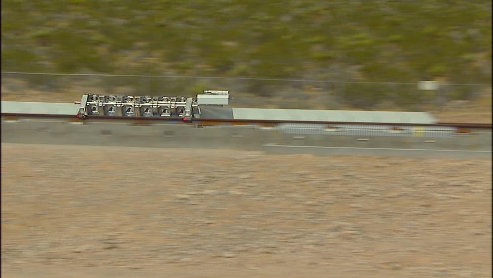 Сверхзвуковой поезд  Hyperloop прошел первые тесты