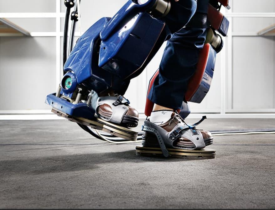 Представлен новый экзоскелет от Hyundai