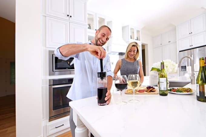 В продаже появится самый удобный графин для вина
