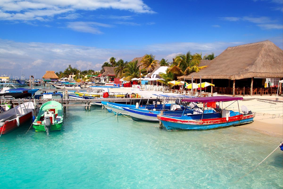Порт_Исла-Мухерес,_Мексика