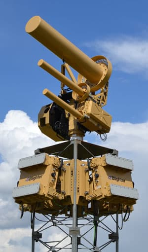 Разработана система сбивающая дроны лучом