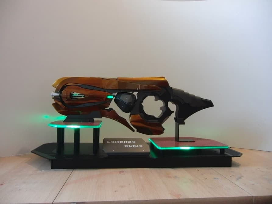 Сконструирован плазменный гранатомет из Halo