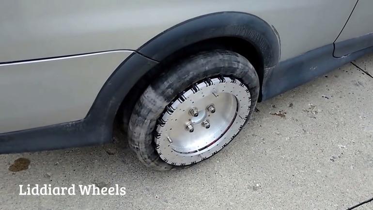 Канадец создал колеса облегчающие параллельную парковку