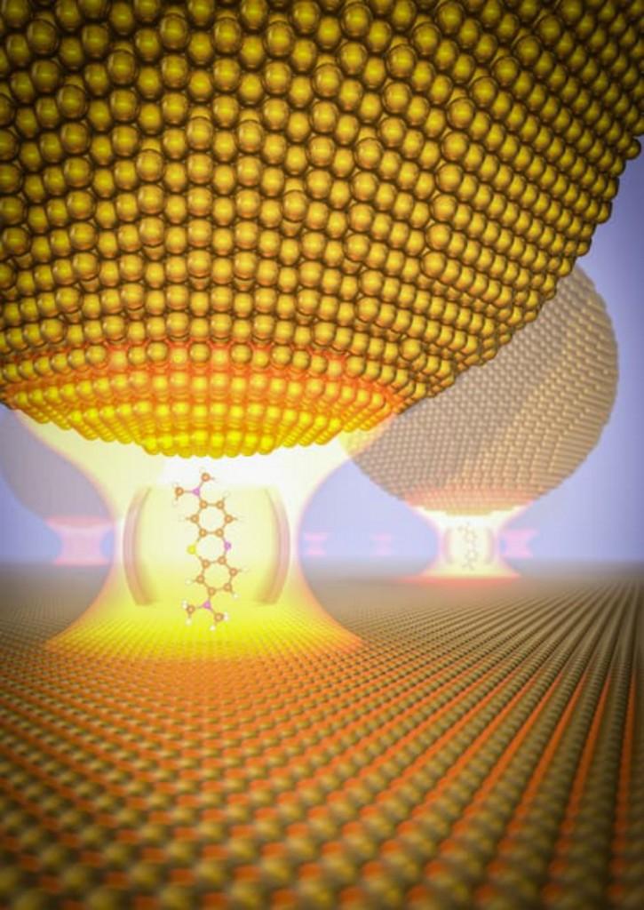 Ученым удалось загнать фотон в золотую клетку