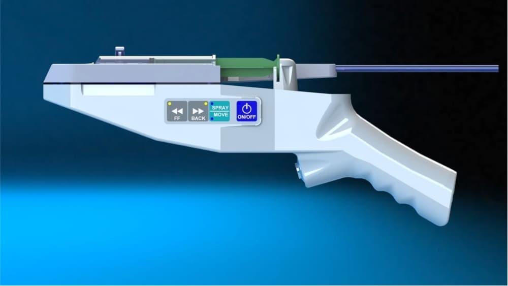 Создан пистолет распыляющий стволовые клетки