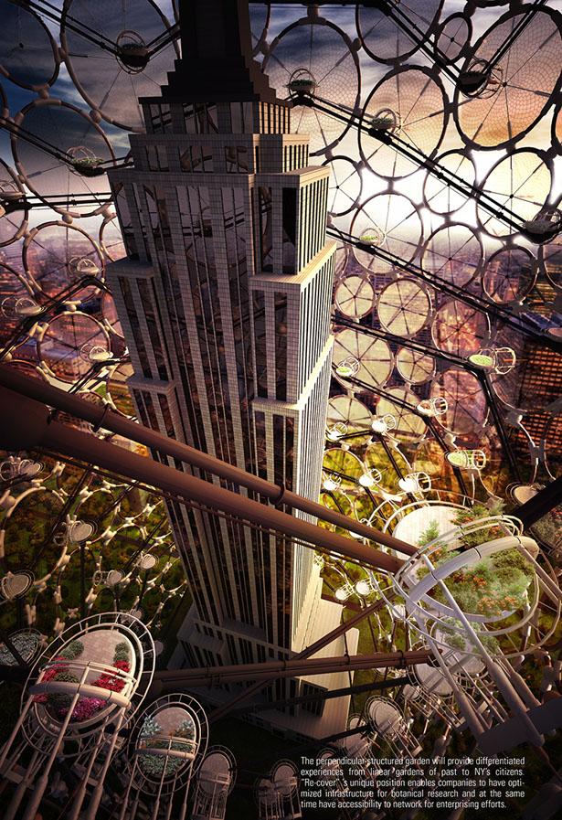 Придуманы экологичные крышки для небоскребов