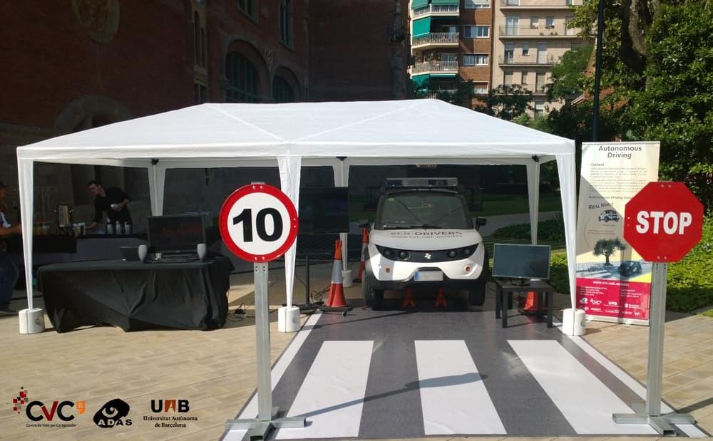 В Барселоне разработана виртуальная автошкола для автономных машин